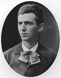 young Nikola Tesla